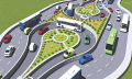 10 U-turns, 22 U-loops being constructed to reduce traffic in Dhk