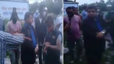 Shahed beaten by mob (Video)