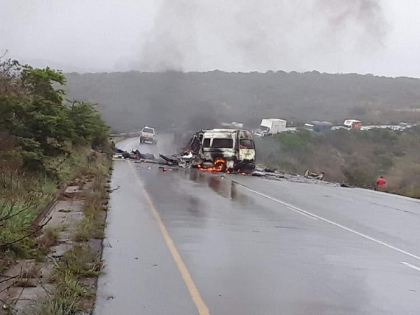 13 killed in South Africa's car crash