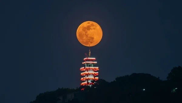 Supermoon; Photo: Collected