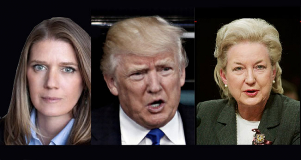 Mary, Donald Trump and Barry