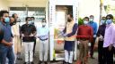 CUET students install 'Automatic Disinfection Booth' in Ctg jail