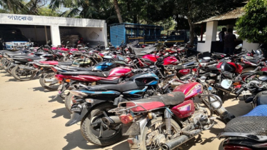 More than 100 motorcycles detained in Singra