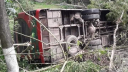2 buses fall into Gopalganjditches, all passengers injured
