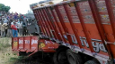14 laborer killed in road accidents in India