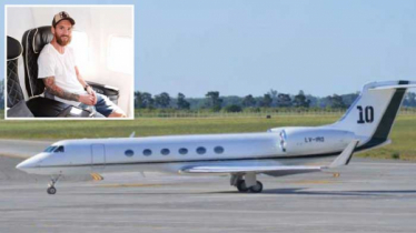 Messi`s private plane forced to make emergency landing