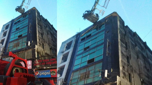 Fire breaks out at Capital`s Gafur Tower