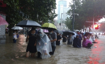 16 killed in severe rainstorms in central China