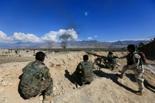 9 militants, 3 soldiers killed in Afghan Taliban attack