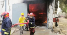 Fire at yarn factory in Gazipur