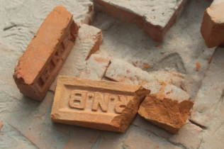 Roads built with poor quality bricks