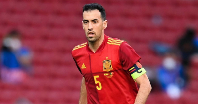 Spanish captain Busquets tested positive for Covid-19