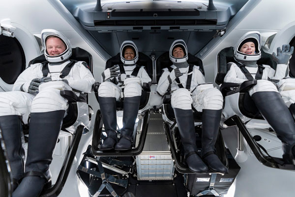 SpaceX`s first tourists all set for `camper van` trip to space