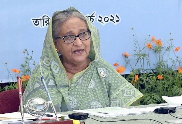 Prime Minister Sheikh Hasina inaugurates Bangladesh Infrastructure Development Fund (BIDF) virtually from her official residence Ganabhaban - PID