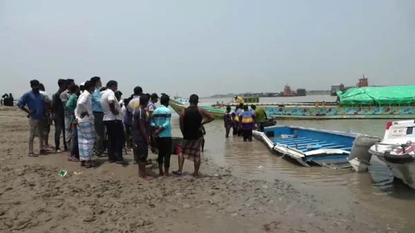 26 people were killed as the speedboat crashed into a sand-laden bulk carrier in the Padma river in Shibchar.File Photo