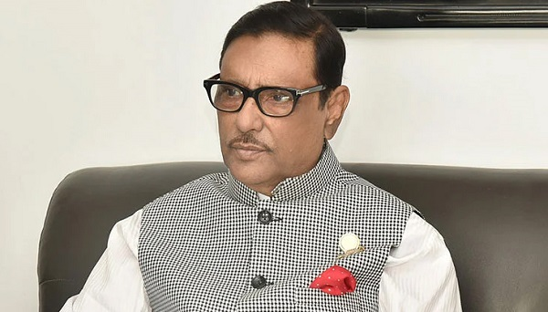 Awami League General Secretary and Road Transport and Bridges Minister Obaidul Quader